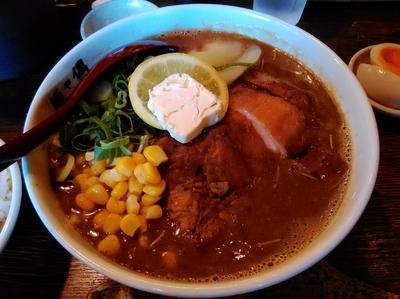 「期間限定 New old style Spicy味噌ラーメン」@麺や偶 もとなり 久茂地店の写真
