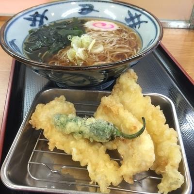 「地鶏天(¥550)」@どん八食堂の写真