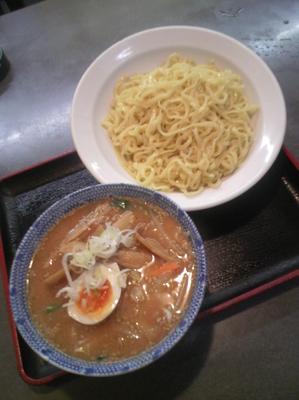 「味噌つけ麺780円」@松ちゃんラーメン 池袋店の写真