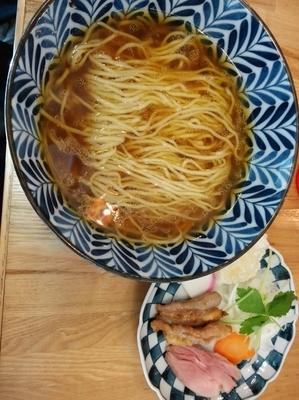 「天草大王の醤油ラーメン(1/2限定)」@ソラノイロ salt & mushroomの写真