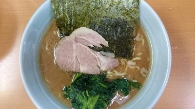 「ラーメン¥650  ライス無料」@横浜ラーメン 武蔵家 綾瀬店の写真