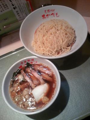 「つけ麺700円」@支那そば あかだもの写真
