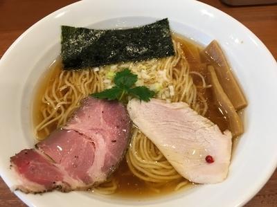 「醤油ラーメン 750円」@中華そば 七麺鳥の写真