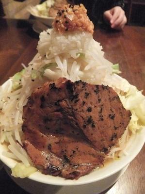 「味噌ラーメン680円(クーポンで500円)ニンニク&ヤサイ」@喝力屋の写真