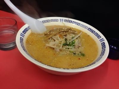 「味噌湯麺(大盛り)600円+100円」@幸瑞の写真