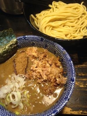 「つけめん  ほぐし肉」@狼煙 〜NOROSHI〜の写真
