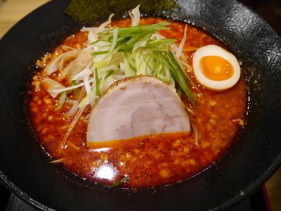 「赤 から味噌 大盛」@麺屋 大申の写真