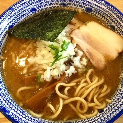 「濃厚中華そば750円」@麺 やまだの写真