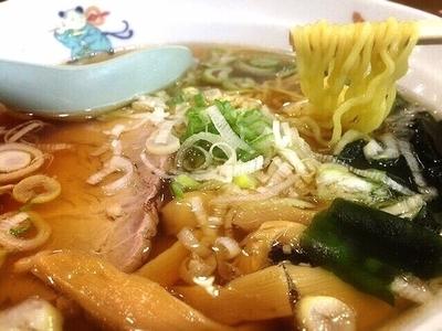 「柳麺(ラーメン)(420円)」@天龍 銀座街店の写真