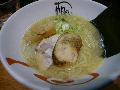 「鶏白湯麺」@麺屋 帆のる 西新橋店の写真