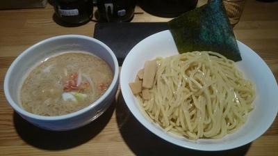 「海老塩つけ麺 中 850円」@麺屋 司 上尾店の写真