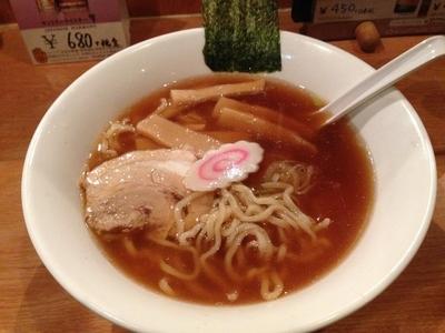 「醤油ラーメン」@中国料理 江南の写真