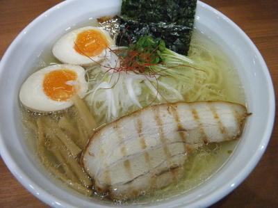 「塩ラーメン730円+味玉100円」@麺厨房 武蔵の写真