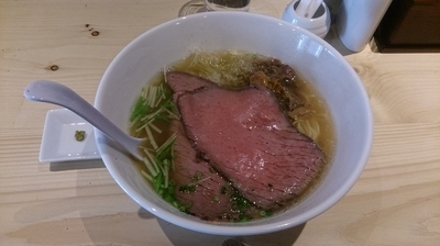 「特製牛骨麺」@麺屋 西川の写真