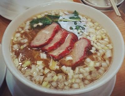 「叉焼麺」@襄陽の写真