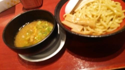 「濃厚魚介つけ麺(あつもり)」@ばりかた屋 与野店の写真