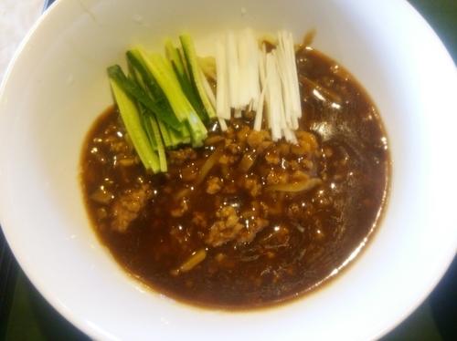 「炸醤麺(飲茶セット)」@敷島壱番館 中国料理 隨園の写真