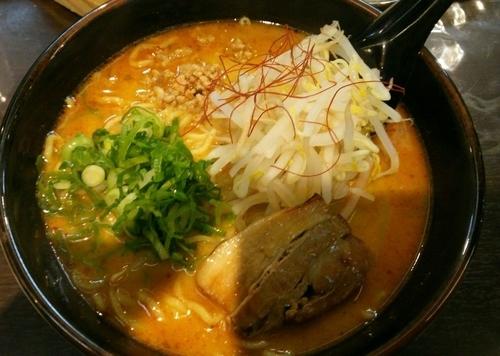 「[期間限定]カレー麺 780円」@拉麺福徳 永山店の写真