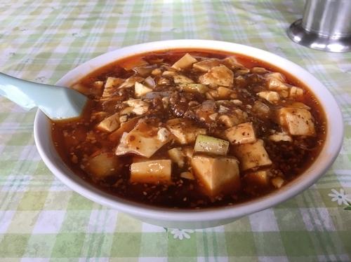 「麻婆拉麺」@麺來の写真