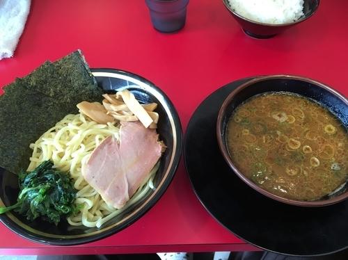 「つけ麺」@家系ラーメン 熊田家の写真