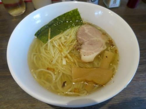 「天地返し麺 680円 ※しお味」@六紋銭 -essence-の写真