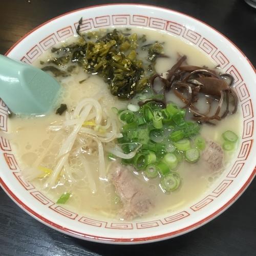 「高菜ラーメン(¥630)」@お栄さんの写真