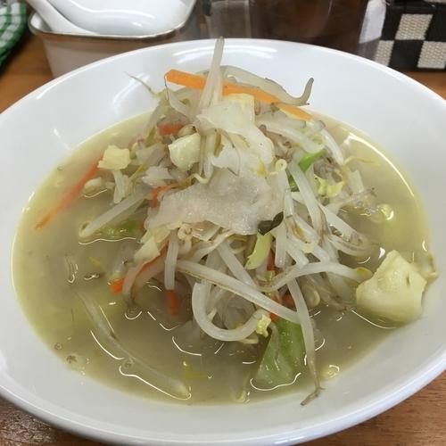 「鶏塩タンメン 750円」@富白 御徒町本店の写真