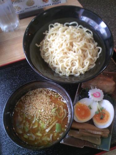 「味噌つけ麺(大盛)840円」@味道屋の写真