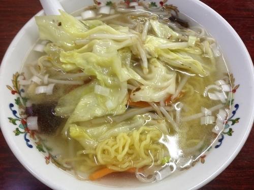 「タンメン」@中華料理 広州茶屋の写真