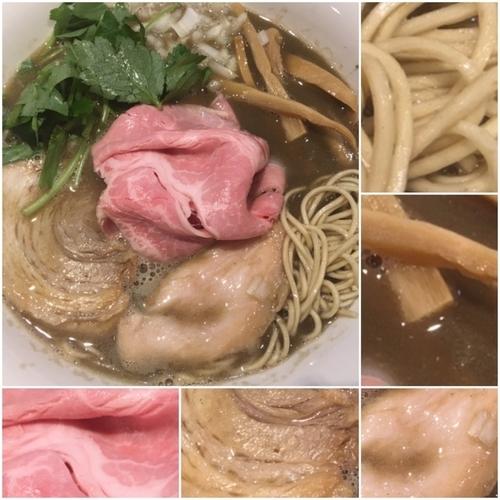 「特濃イカ煮干そば800円」@寿製麺よしかわ 川越店の写真