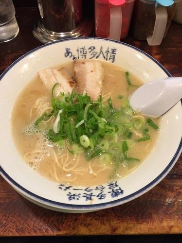 「ラーメン  700円」@博多長浜屋台ラーメン あぁ博多人情 秋田店の写真