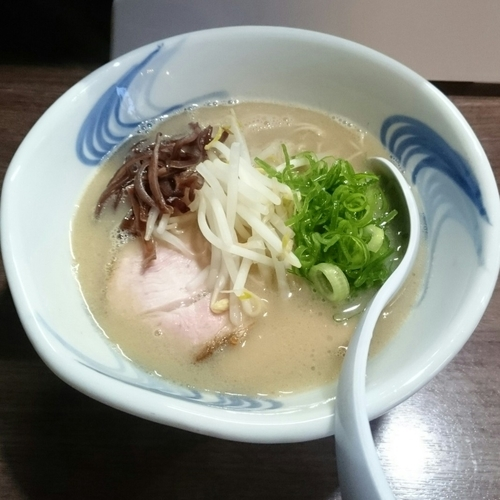 「白ブッタ @800円 6周年限定」@我流麺舞 飛燕の写真