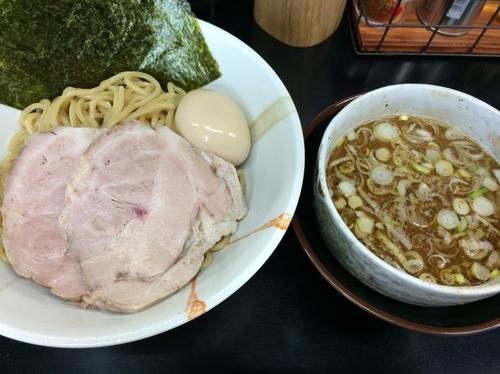 「特製つけ麺 並盛」@中華そば 旋の写真
