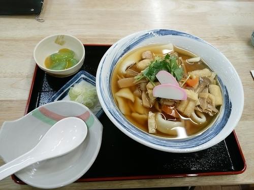 「おっきりこみうどん(並盛・250g)950円」@はや味の写真