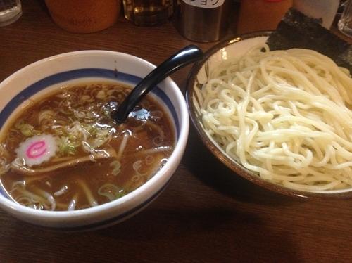 「つけ麺(中)」@大勝軒 十五夜 新宿御苑店の写真