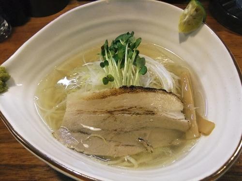 「鯛塩らーめん(720円)」@麺屋 軌跡 本店の写真