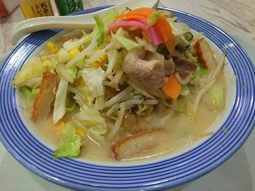 「野菜たっぷりちゃんぽん ※ドレッシング付き」@リンガーハット イオン南松本店の写真