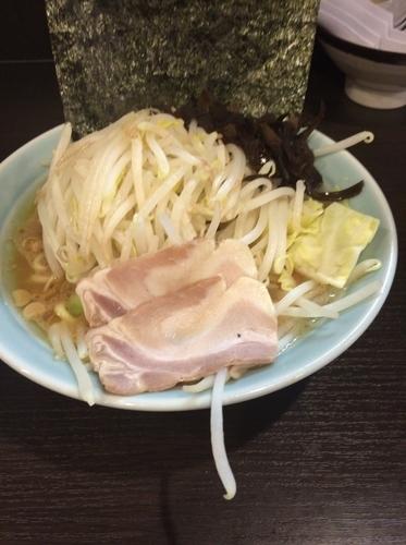 「ラーメン+野菜」@横浜ラーメン 増田家 西船橋店の写真