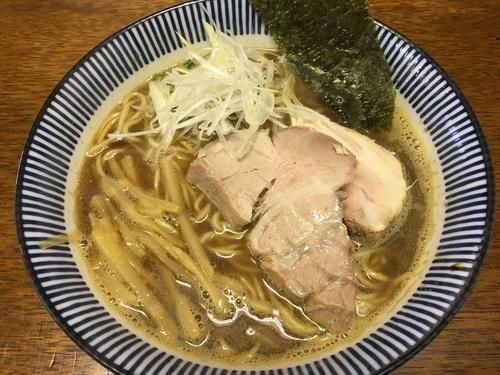 「煮干し拉麺」@良温(Ra-on)の写真