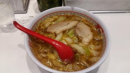 「おいしいラーメンミドルサイズ」@どうとんぼり神座 エキマルシェ新大阪店の写真