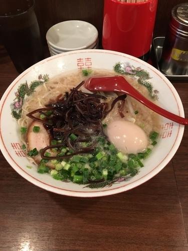 「新味味玉入り」@ラーメン 麺や亮の写真