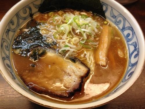 「和風らーめん ¥700」@つけ麺・らーめん 豆天狗 名古屋金山店の写真