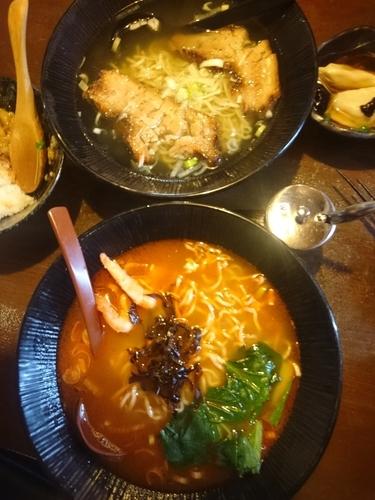 「烏龍海老拉麺 モンゴル岩塩拉麺」@和の中の写真