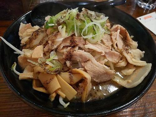「すた麺 (麺大盛り)」@麺屋さくらの写真