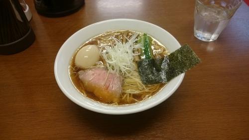 「鶏だし醤油ら~めん+玉子」@麺処 有彩の写真