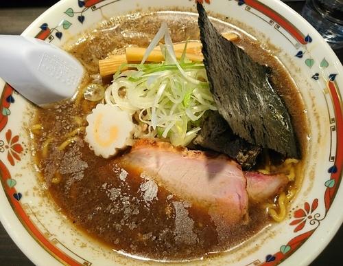 「【狼スープ×山さわ コラボ限定】札幌煮干醤油らーめん」@味噌らーめん専門店 狼スープの写真