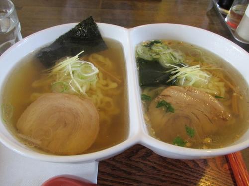 「にこいちラーメン(醤油・塩)」@ラーメン厨房 ぽれぽれの写真