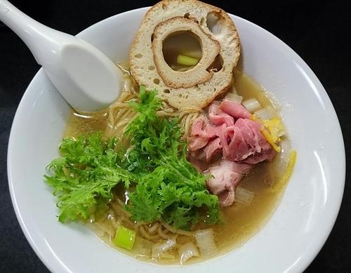 「【晴×海月 コラボ限定】入谷の海月姫」@麺処 晴の写真