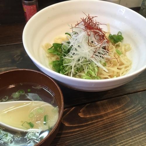 「汁なし担担麺(¥600)」@餃々軒の写真
