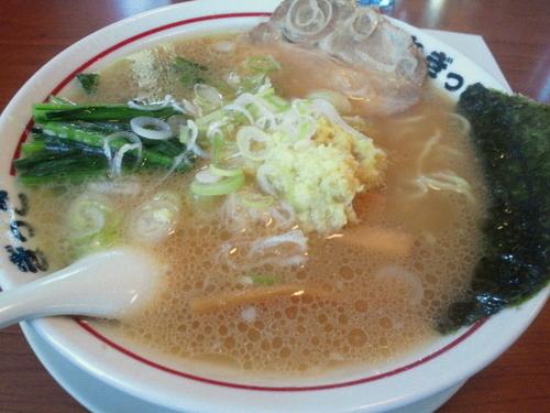 「生姜ラーメン(醤油) 650円」@ラーメンねぎっこ 北福島店の写真